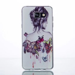 Painting TPU Gel Rubber Case For Samsung Galaxy A5 2016 A510 A510F A5100