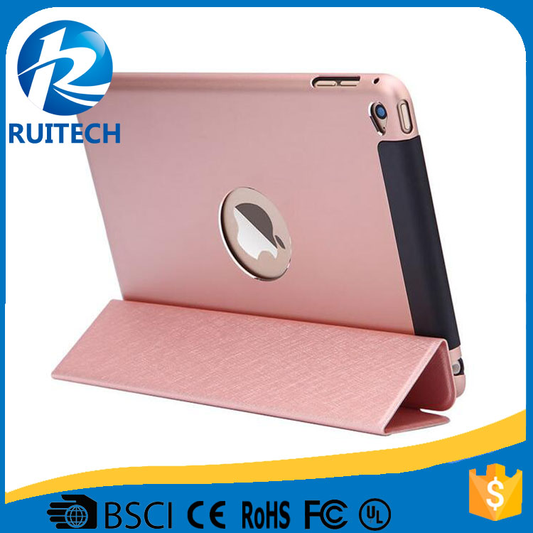 Hot selling for iPad mini 4 cover smart flip case