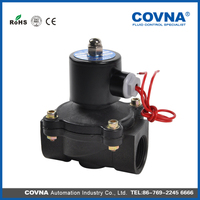 PVC Direct Acting Plastic Normalli Open Exported Solenoid Valve online shopping