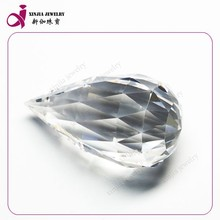 Wholesale fashion cut loose gems Synthetic Colors Water Drop cubic zirconia
