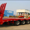 Heavy Machine Transportation 3 Axles Low