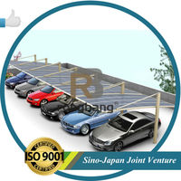 Aluminum Single Carport OEM with pc shelter LR- single model