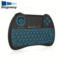 Top Sale Wirelesss H9 Fly Gaming Keyboard And Mouse with backlit 2.4g mini keyboard for smart tv box