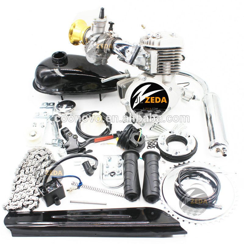 80cc Gas Bike <strong>Motor</strong> Engine Kit for Motorized Bicycle 2 Stroke