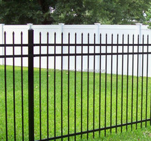 Australia standard 1.8m(H)x2.4m(W) safety welded tube fence