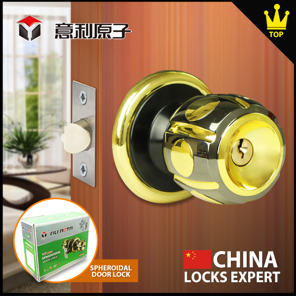 Mortice Door Locks Dedicated keys opened the door knob lock with deadbolt