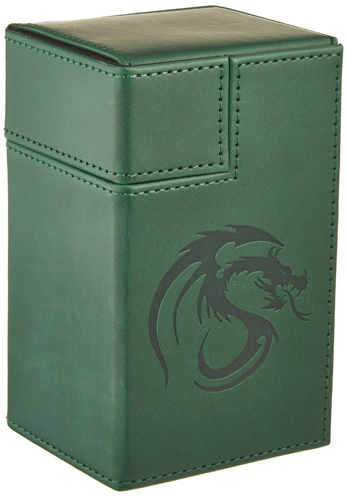 Ultra Pro Magic the Gathering-Flip Box Of Leather Deck Box