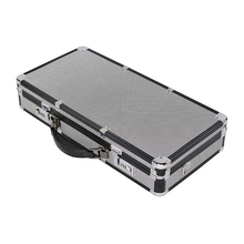 Custom aluminum tools storage nail womens briefcase makeup <strong>brush</strong> case