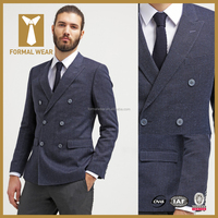 New Arrival double breasted mens casual blazer for men