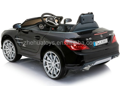 Best selling kids ride on toy car Mercedes Benz SL63 ride on car licensed kids electric car 12volt