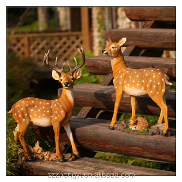2014 hot new product sika deer china wholesale garden decoration