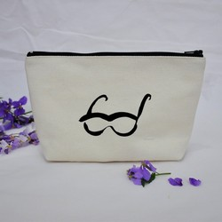 Eco-Friendly fashion custom makeup pouch