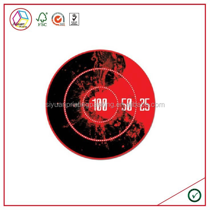 High Quality Heat Sensitive Color Changing Sticker
