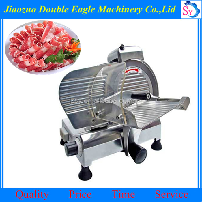 8 inches Semi-automatic frozen meat slicer/beef and mutton cutting machine