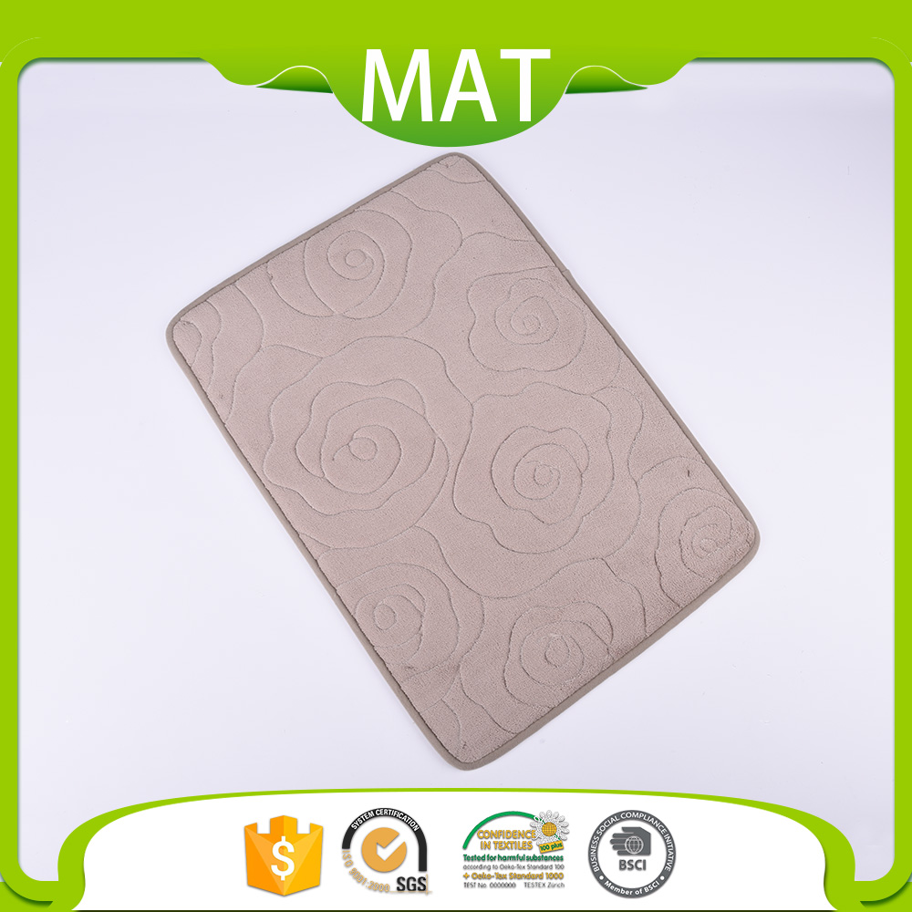Commercial Grade Indoor Anti Slip Mat Design Coral Fleece Throw Carpet