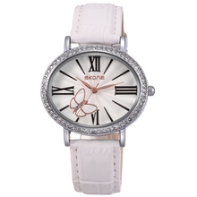 skone 9369 hot selling ladies unique oval face fanstic watch