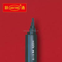Liantong high quality GB/T 13663-2000 hdpe pe100 sdr13.6 pipe, pe100 pn12.5 tubes factory