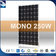 Competitive Price Complete Set Home Wholesale Sunrise 250W Pv Solar Panels