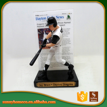 2017 Wholesale Cheap Custom Baseball Player Bobblehead