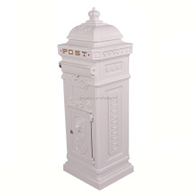 The Most Popular Style In Europe Factory Lowest Price Freestanding Garden Irish Post Box From China