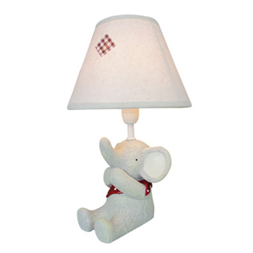 resin shy animal shaped table light desk lamps