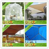 shading net with sun reflective material, shade sail fabric, swimming pool netting