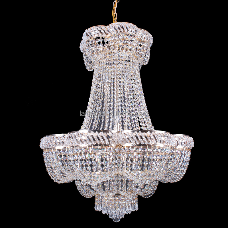 Crystal Chandelier Price: Grand Clear K9 Crystal Chandelier Prices Wholesale Big