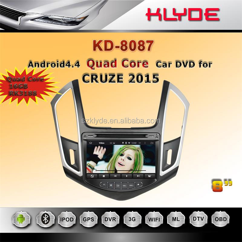 auto radio gps car dvd for chevrolet cruze with wheel control