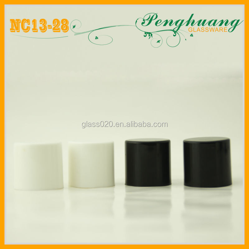 gel nail polish black cap/white cap