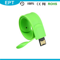 USB Flash Disk Silicone Bracelet Shape USB Flash Drive Memory 8GB