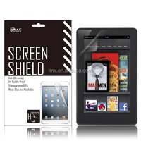 Screen protector & tablet pc screen guard for Amazon kindle fire oem/odm(Anti-Glare)
