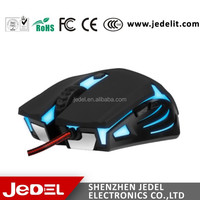 high DPI GM500 LED computer USB wired gaming mouse