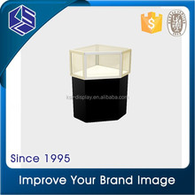 Make in china! Glass small jewelry display case jewelry shop display cabinet