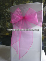 CHEAP SPANDEX CHAIR COVER WITH ORGANZA SASH