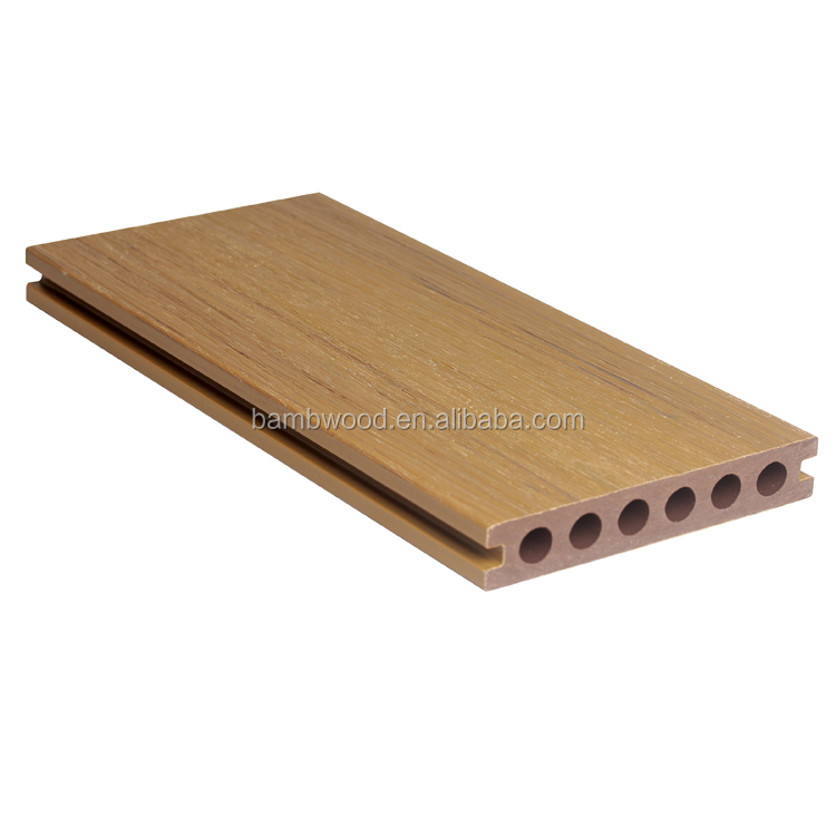 Fashion co-extrusion WPC Decking Solid Board Popular