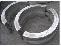 hot Aluminum bracelet anode sacrificial anode china supplier cathodic protection