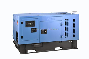 12kw 15kva diesel generator Japanese Kubota Engine D1703 low fuel consumption with Stamford Alternator