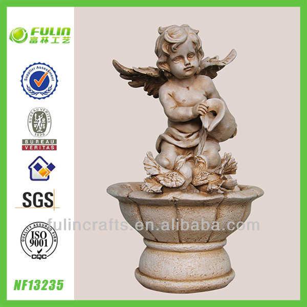 Polyresin Angel Indoor Water Fountains India