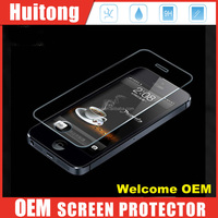 best screen protector For iphone 6s 0.2mm 0.33mm 2.5D rounded edge 9h tempered glass screen protector for iphone 5 Welcome OEM