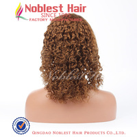 Tight curly cheap Brown human hair full lace wigs,Brazilian virgin hair 12''~24'' natural color,1#,1b#,wholesale price