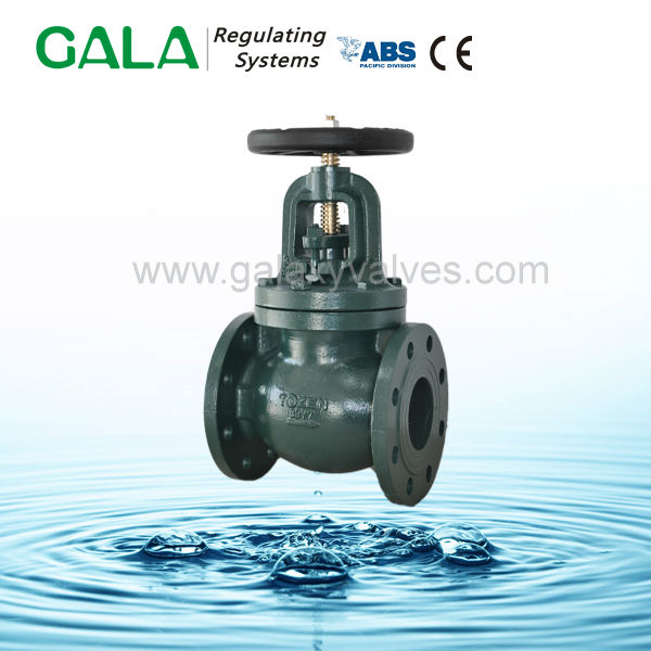 High quality big size water globe valve china manufacturer