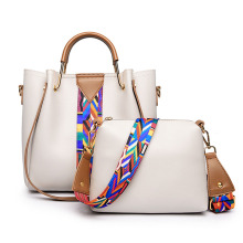 Best quality fashion PU material women shoulder bag hot sale lady tote bag leather handbag