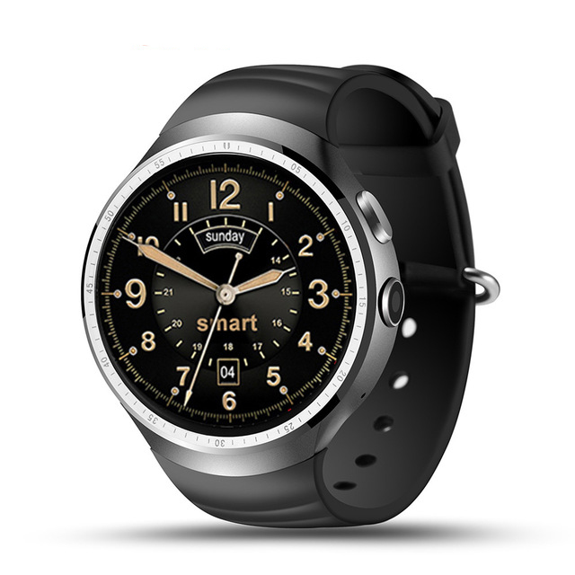 LEMFO LES1 Smart Watch Android 5.1MTK6580 1GB / <strong>16GB</strong> Smartwatch Phone with 2.0 MP Camera WIFI GPS
