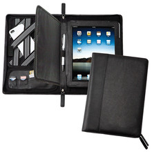 Multi-purpose leather compendium for ipad air case games compendiums