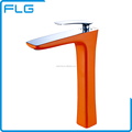 Wenzhou Gold Supplier Orange Color Bathroom Toilet Basin Faucets