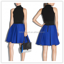 Women Fashion bubble skirt with inverted pleats NT304