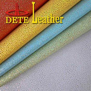 wholesale faux leather fabric materials LASER shoes materials