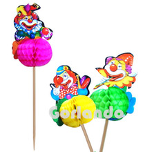 Newest hot sell party decorative clown pick