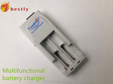 Hot selling electronic automatic lithium button battery charger for all Li-ion battery