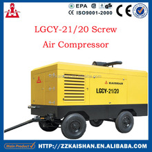High Pressure Mining Equipment LGCY- 21/20 Screw Air compressor For Sale